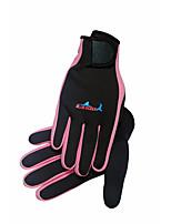 Schnorcheltauchhandschuhe tragen rutschfeste Handschuhe