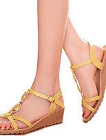 Women's Shoes Leatherette Wedge Heel Wedges / Heels / Fashion Boots / Comfort / Shoes & Matching Bags / Pointed Toe