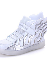 Unisex Kid Boy Girl athletic shoe  Student dance Boot LED Light  Sport Shoes Flashing Sneakers USB Charge