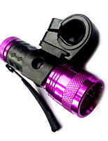 14LED White Light Purple Bicycle Headlights (3XAAA)