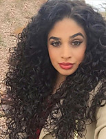 Glueless Full Lace Human Hair Wigs For Black Women 6A Brazilian Loose Curly Wave Lace Front Human Hair Wigs