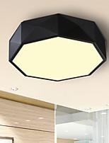 24W Montagem do Fluxo ,  Contemprâneo Pintura Característica for LED / Estilo Mini MetalSala de Estar / Quarto / Sala de Jantar / Cozinha