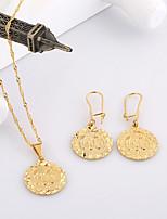 Westernrain Women's Alloy / Titanium Muslim Allah Jewelry Set Non Stone
