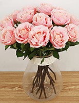 A Branch Silk Roses Artificial Flowers Wedding Flowers 1pc/set
