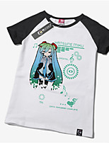 Inspired by Vocaloid Hatsune Miku Cotton T-shirt