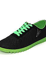Men's Shoes Outdoor / Athletic / Casual Tulle Fashion Sneakers / Slip-on Black / Blue / Gray