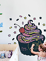 Wall Stickers Wall Decals Style Ice Cream Office Blackboard PVC Wall Stickers