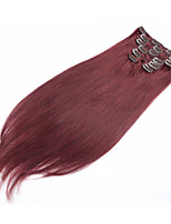 Clip In Human Hair Extension 7pcs/set 70g 15