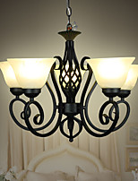 Iron Retro Living Room Lamps Bedroom Room Ceiling Nordic Creative Restaurant Lighting