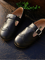 Children's Shoes Outdoor / Casual Leather Loafers Black / Yellow / White / Orange