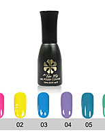 5PCS UV Gel Nail Polish Long-Lasting Nail Gel Soak-off LED Lamp Gel Polish 15ML