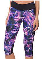 Pantalon de yoga Bas / Pantalon / Shirt / Couches de base / Costume de compression/Sous maillotRespirable / Séchage rapide / mèche /