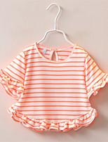 3 Colors Girls Tops Summer 2016 Kids Fashion Cotton T-Shirt Girls Clothes T Shirt