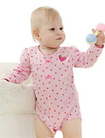 Girl's Pink Overall & Jumpsuit,Stripes Cotton Spring / Fall