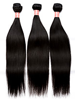 6A Peruvian Virgin Hair Straight Human Hair Weave Bundles 3Pcs Peruvian Straight Hair Extensions