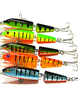 10.5cm 9.6g/Pcs Multilevel Simulation Plastic Bait Lures Upscale Two-section Hard Bait Lures 1 PC