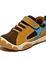 Boys' Shoes Outdoor / Athletic / Casual Leather Boots / Fashion Sneakers / Loafers Black / Blue / Brown / Red