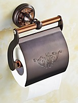 ORB and Rose Gold Fishinging Bathroom Accessories Solid Brass Material Toilet Paper Holders