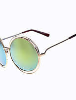 Classic Women's Photochromic 100% UV Butterfly Full-Rim Round Coating Sunglasses Style(Assorted Color)