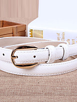 Women Leather All Match Wide Belt,Vintage / Cute / Party / Casual Alloy