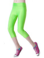 Women Solid Color Legging,Polyester Medium