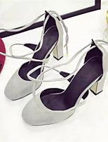 Scarpe Donna-Scarpe col tacco-Tempo libero-Comoda-A stiletto-Finta pelle-Nero / Marrone / Grigio