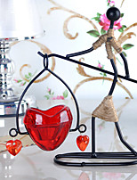 European Contracted Household Adornment Retro Romantic, Wrought Iron Candlestick, Crafts Are Creative Gifts