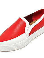 Women's Shoes Platform Creepers / Comfort Loafers Dress / Casual Black / Red / Silver