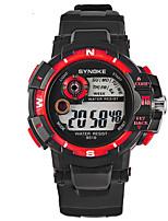 orologio sportivo Da uomo Cronometro / Nottilucente Quarzo giapponese Digitale braccialetto