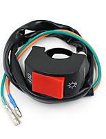 VAWiK Motorcycle Black Fog Spot Light Lamp Headlight On Off Switch 7/8