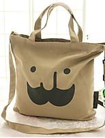 HQS Women Canvas Bucket Tote / Satchel / Wristlet / Cross Body Bag / Storage Bag