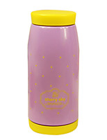 Purple Cute Creative High-capacity Vacuum Thermos Cup