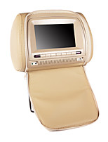 7 Inches Car Headrest DVD Player in Beige