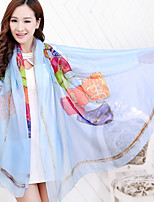 Women Polyester Scarf,Vintage / Party / Casual