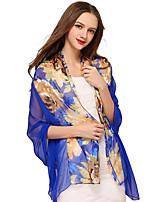 Women Silk Scarf,Vintage / Cute / Party / Work / Casual
