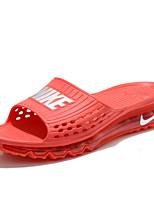 Zapatos de Hombre-Sandalias-Casual-Goma-Rojo