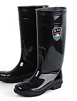Men's Shoes Outdoor Silicone Boots Black