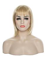 parrucca bob arrivo di stile della stella nuova parrucca capelli biondi lungo rettilineo parrucca sintetica pieno