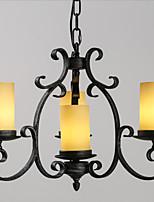 MAX 40W Rétro Style mini Peintures Métal Lampe suspendueSalle de séjour / Chambre à coucher / Salle à manger / Bureau/Bureau de maison /