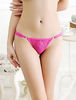 Women's Sexy G-strings & Thongs T-back Panties Underwear Women's Lingerie with Steel Rings