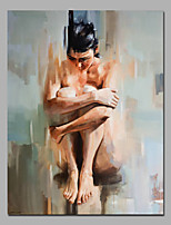 Nude Lady Siting Dowm On Ground Sexy Nude Wall Art With Stretcher Ready To Hang For Coffie Shop Artwork
