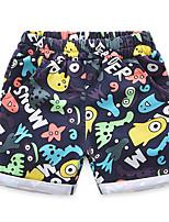 2016 New Cartoon Summer Baby Boy Clothing Cartoon Printed Shorts Kid Boy Summer Children Boy Clothes