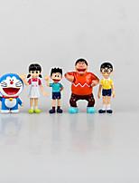 Autres Autres PVC 6cm Figures Anime Action Jouets modèle Doll Toy