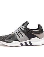 Men's Shoes Casual/Athletic/Runing Fashion Tulle Leather Sneaker Running Shoes Gray/Black/Red 39-44