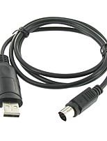 cable de programación USB para ft-7800 ft-8800 de 10 pies chipset versión ftdi compatible con Windows 7 64 bits