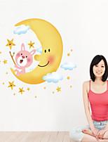 Bande dessinée / Romance / Mode Stickers muraux Stickers avion,PVC 60*90cm(23.6*35.4 inch)