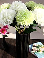 A Branch Silk Aritificial Hydrangea Multicolor Optional 1pc/set