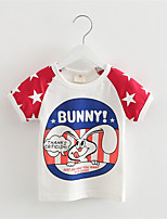 New Summer Style 2016 Baby T Shirts for Boys Girls Cotton Short Sleeve Rabbit Cartoon Print Brand Tees