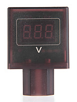 DC 30V-100V Red LED Digital Voltmeter Volt Meter Gauge for 36V/48V Electric Bike