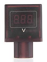 dc 30v-100v led rojo de vía métrica voltios voltímetro digital de 36V / 48V bicicleta eléctrica